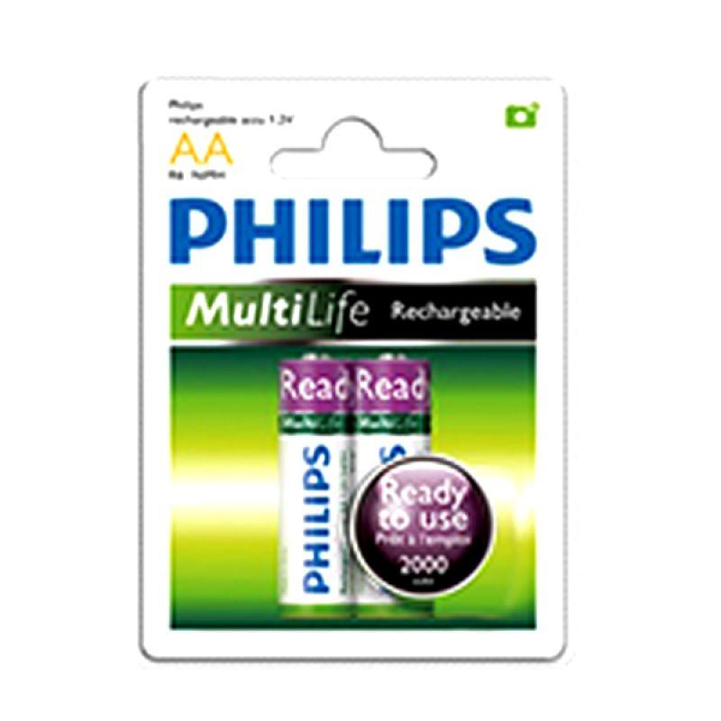 Philips Baterai [A2/ 2000mAh/2 Pcs]