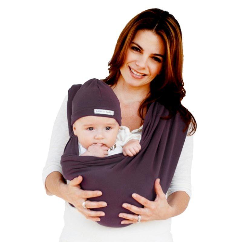 BabyKtan Basic Baby Carrier Eggplant