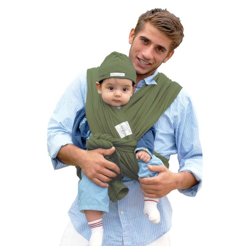 BabyKtan Basic Baby Carrier Sage Green