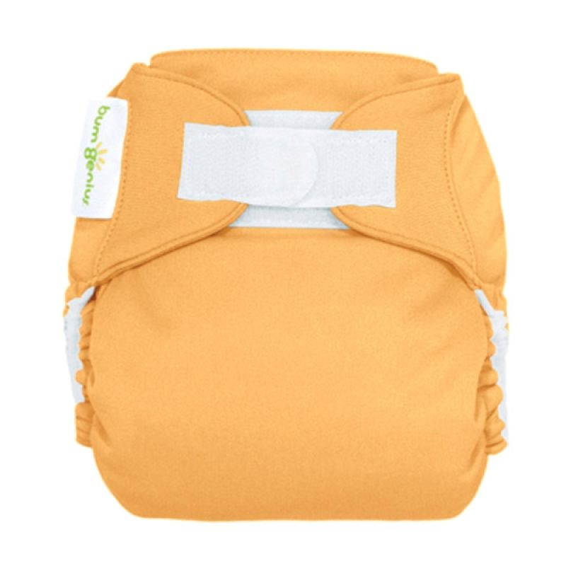 Bumgenius 4.0 Pocket One Size Stay Dry Diaper Clementine Hook/Loop