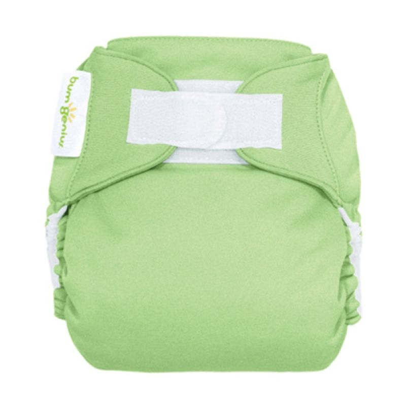 Bumgenius 4.0 Pocket One Size Stay Dry Diaper Grasshopper Hook/Loop