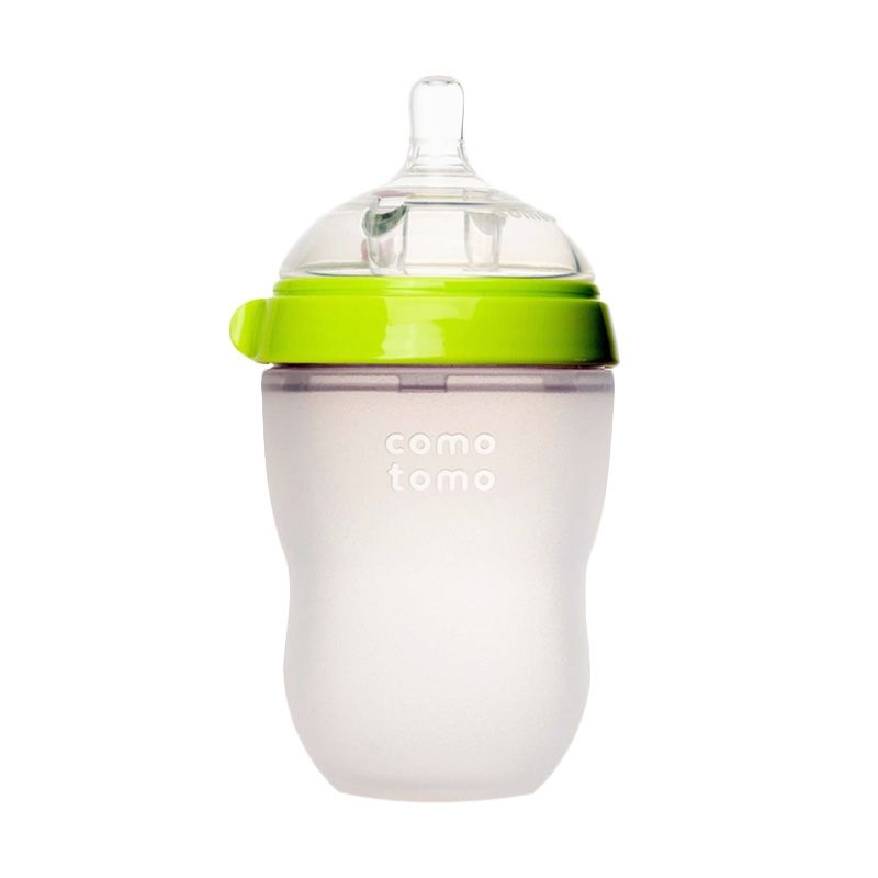 Comotomo Single Pack Green Botol Susu [250 mL]