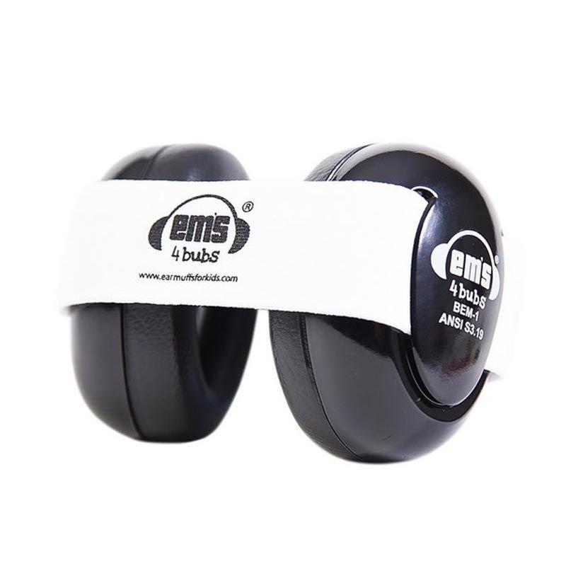 Em'S 4 Bubs Black White Pelindung Telinga Bayi