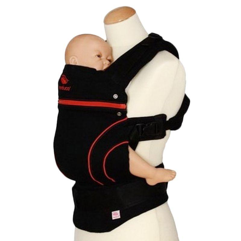 Manduca Baby Carrier Blackline Red