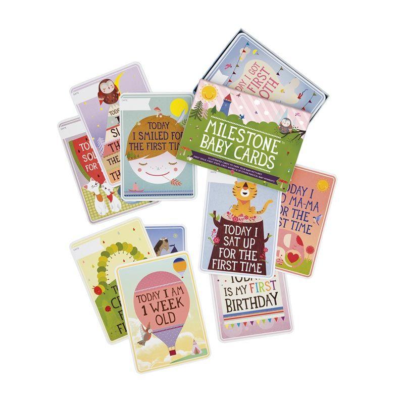 Milestone Baby Cards Mainan Bayi