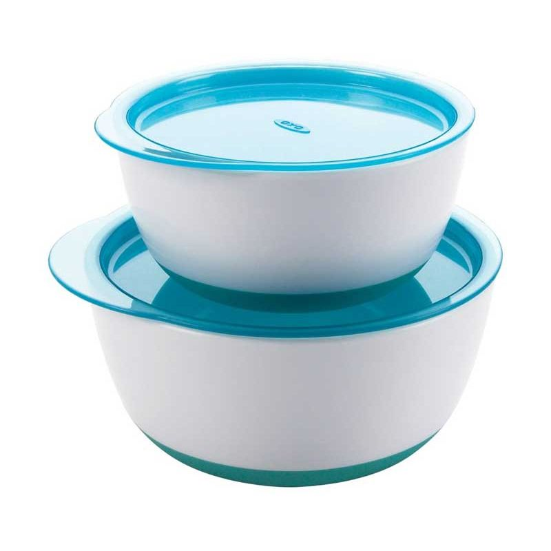 Oxo Large and Small Bowl Set Biru Tempat Makan