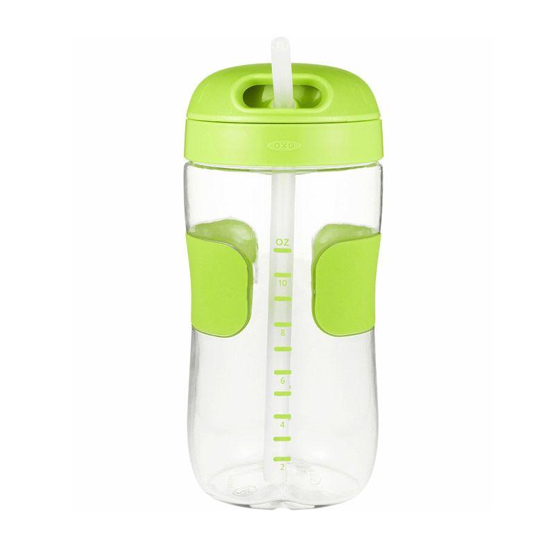 OXO Tot Straw Cup Hijau Botol Minum [11oz]