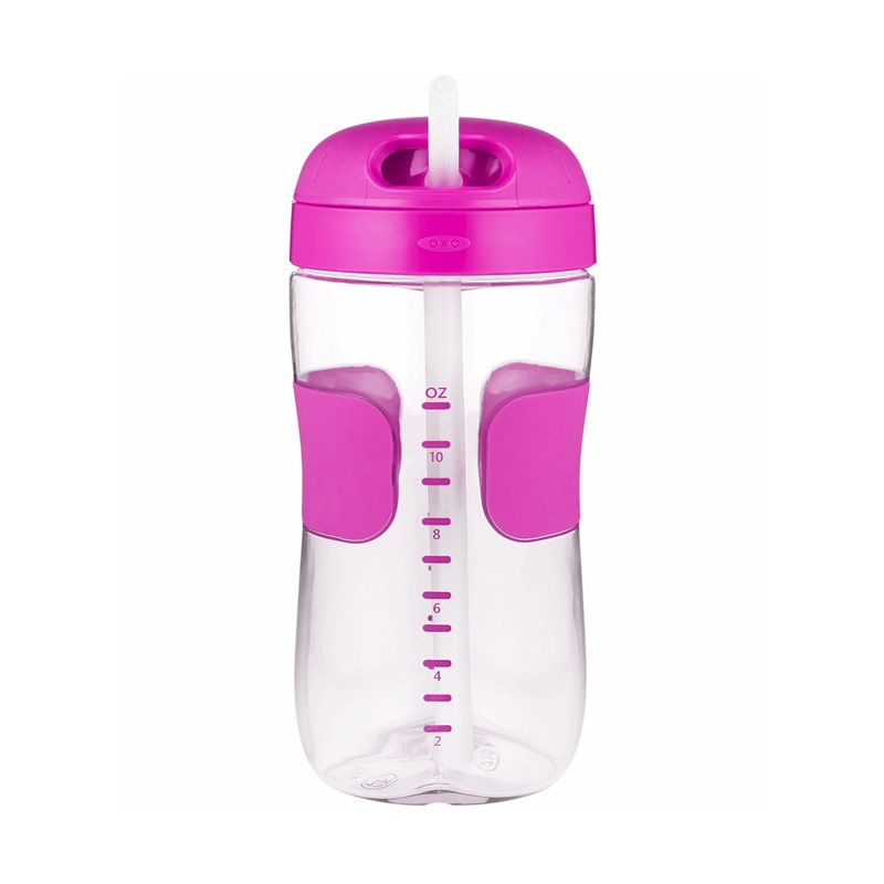 OXO Tot Straw Cup Pink Botol Minum [11oz]