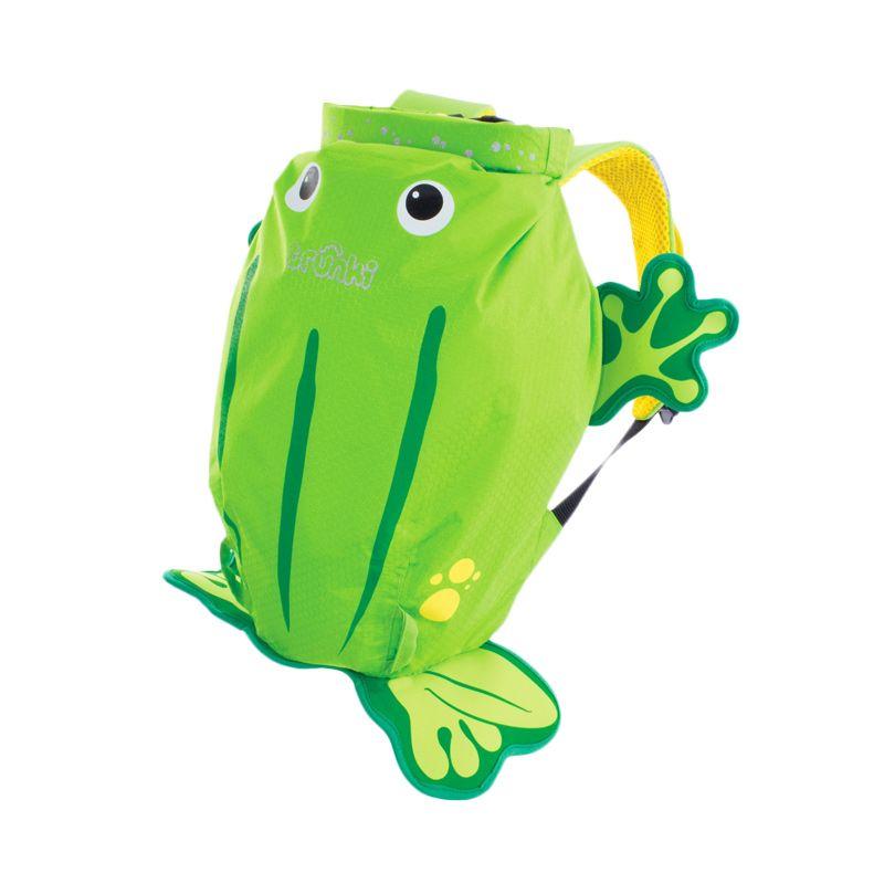 Paddlepak Ribbit Small Green Tas Sekolah Anak