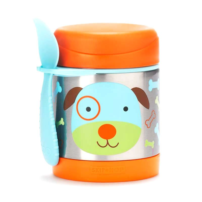 Skip Hop Dog Insulated Food Jar Termos Makan