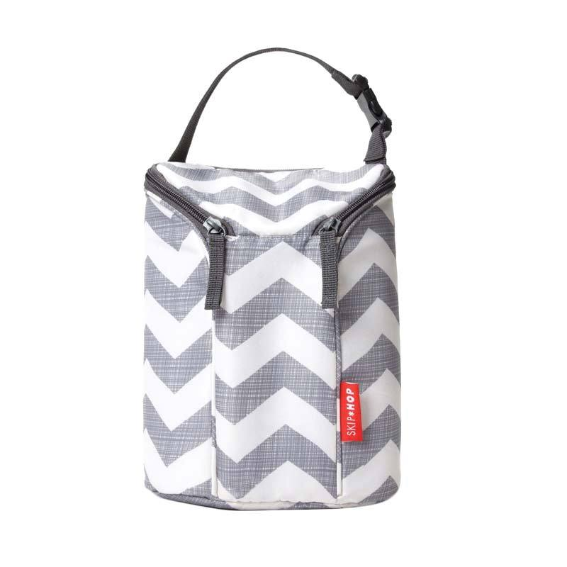 Skip Hop Grab and Go Double Chevron Bottle Bag Tas Bayi