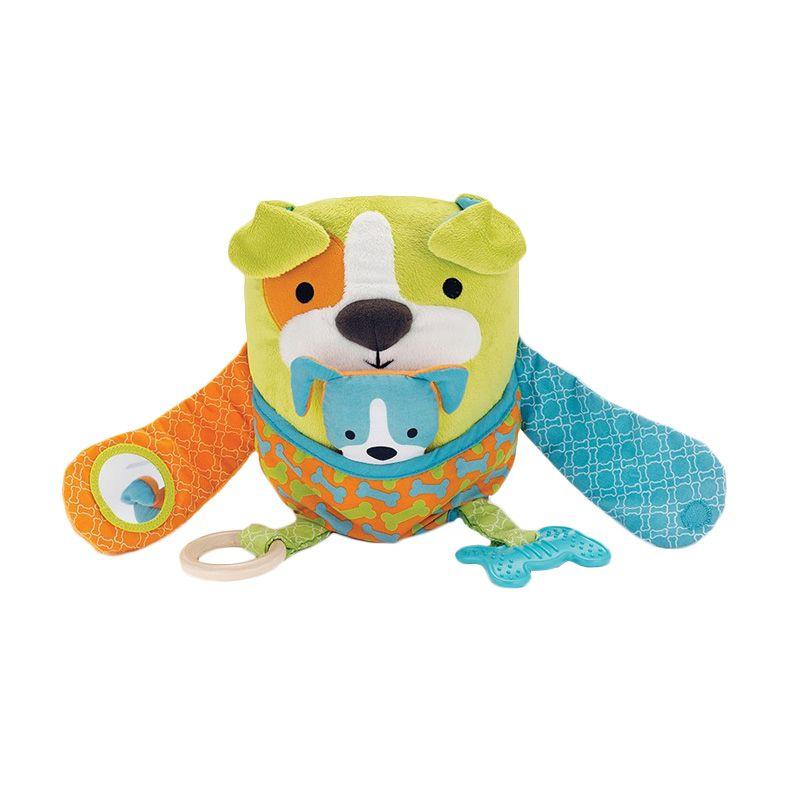 Skip Hop Hug & Hide Dog Activity Mainan Bayi