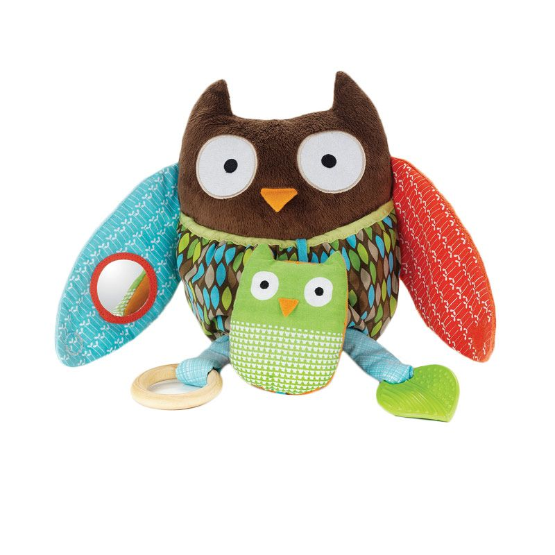 Skip Hop Hug & Hide Owl Activity Mainan Bayi
