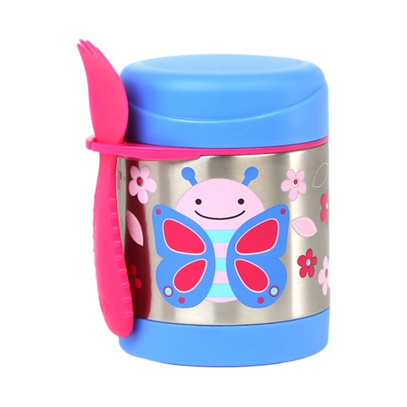 Skip Hop Insulated Food Jar Butterfly Termos makan