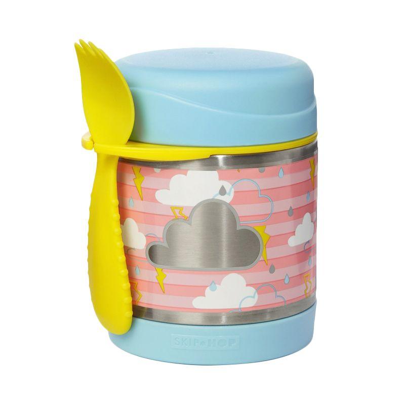 Skip Hop Insulated Food Jar Cloud Termos makan