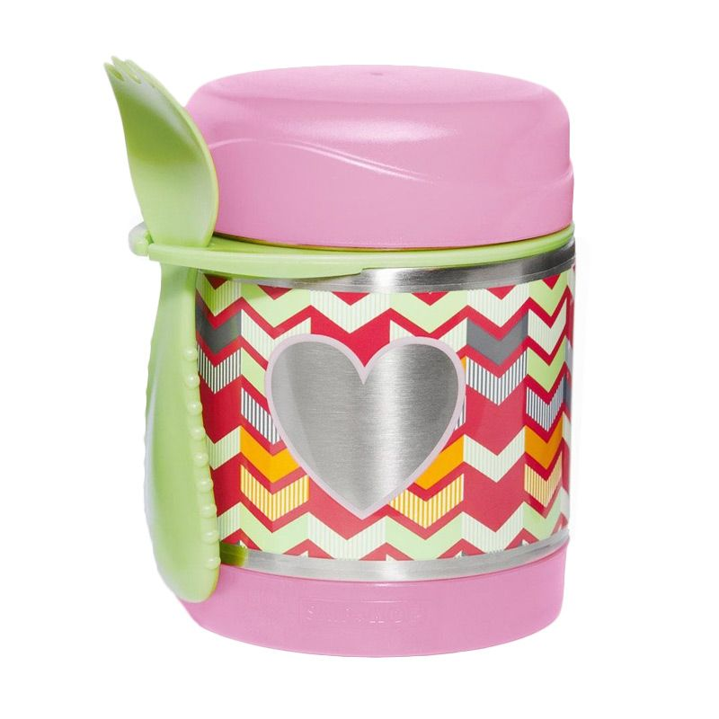 Skip Hop Insulated Food Jar Heart Termos makan