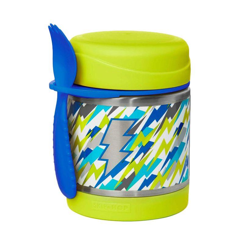 Skip Hop Insulated Food Jar Lightning Termos makan