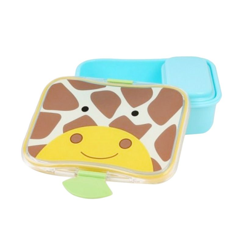 Skip Hop Lunch Kit Giraffe Blue Kotak Makan