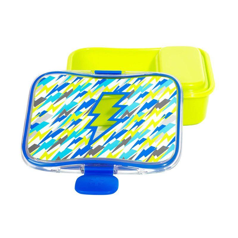 Skip Hop Lunch Kit Lightning Green Kotak Makan