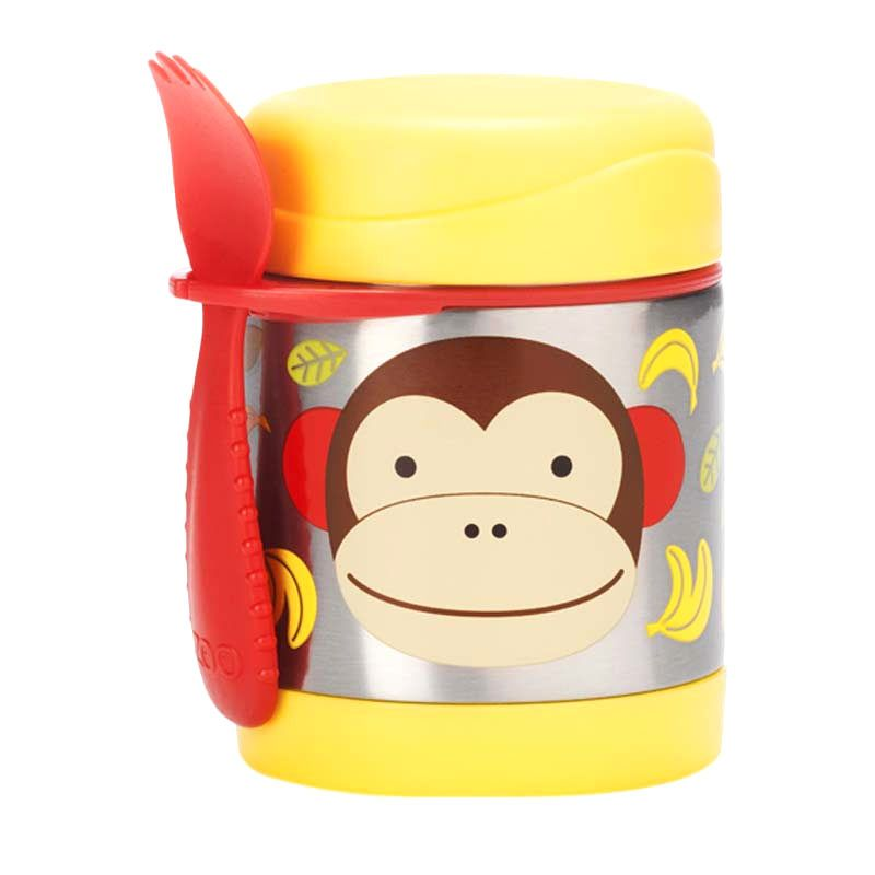 Skip Hop Monkey Insulated Food Jar
