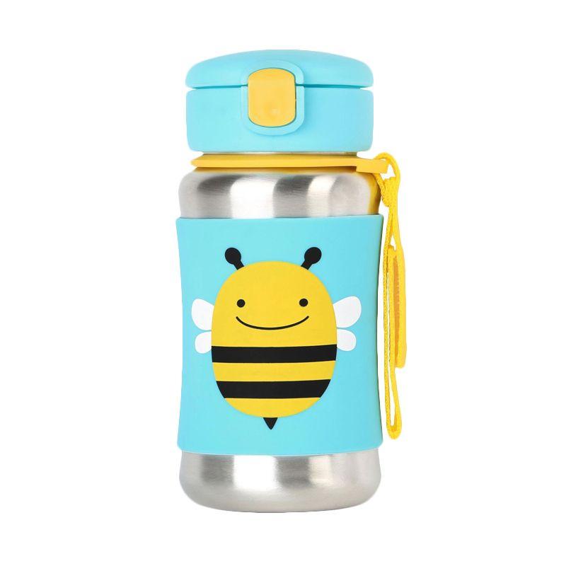 Skip Hop Stainless Steel Bee Straw Botol Minum
