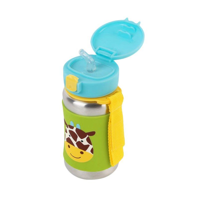 Skip Hop Stainless Steel Giraffe Straw Botol Minum
