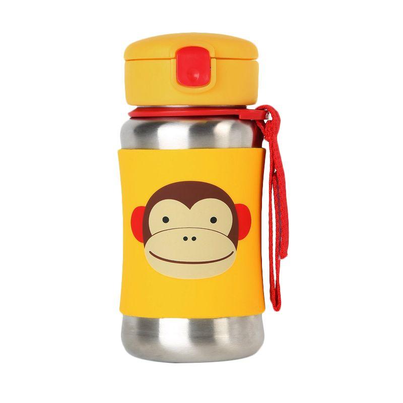 Skip Hop Stainless Steel Monkey Straw Botol Minum