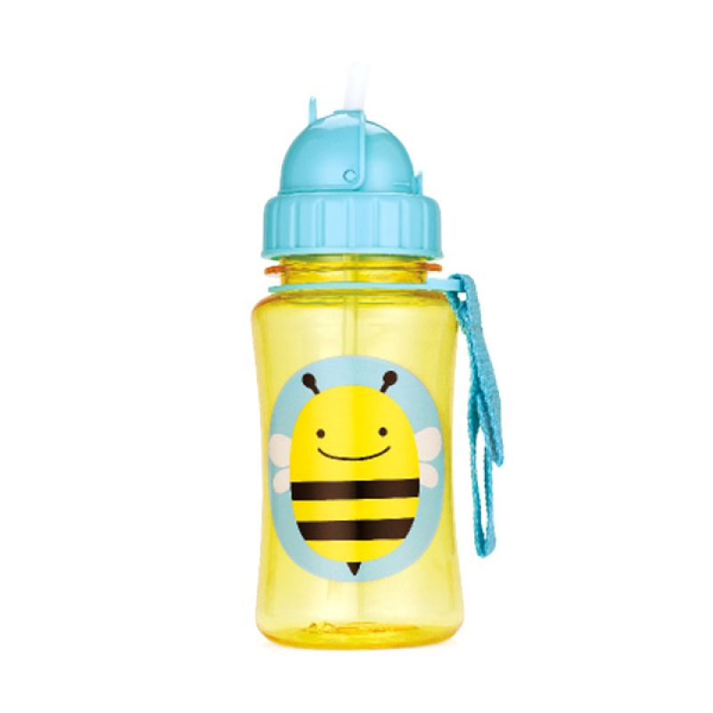 Skip Hop Zoo Straw Bottle Bee Botol Minum Anak