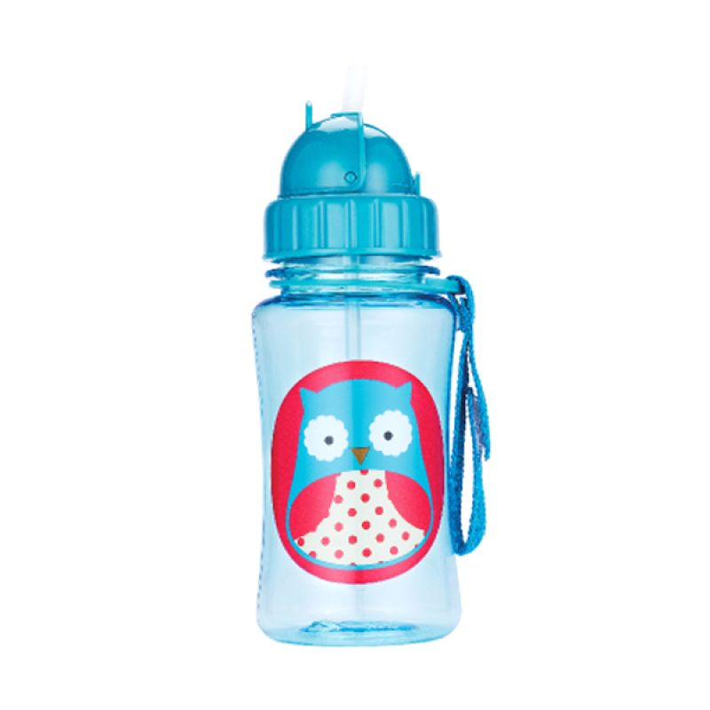 Skip Hop Zoo Straw Bottle Owl Botol Minum Anak