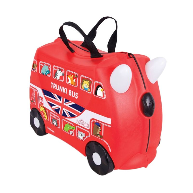 Trunki Boris The Bus Red Travel Bag