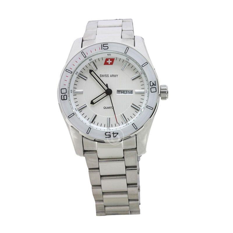 Swiss Army SA 73209 MA Putih Jam Tangan Pria