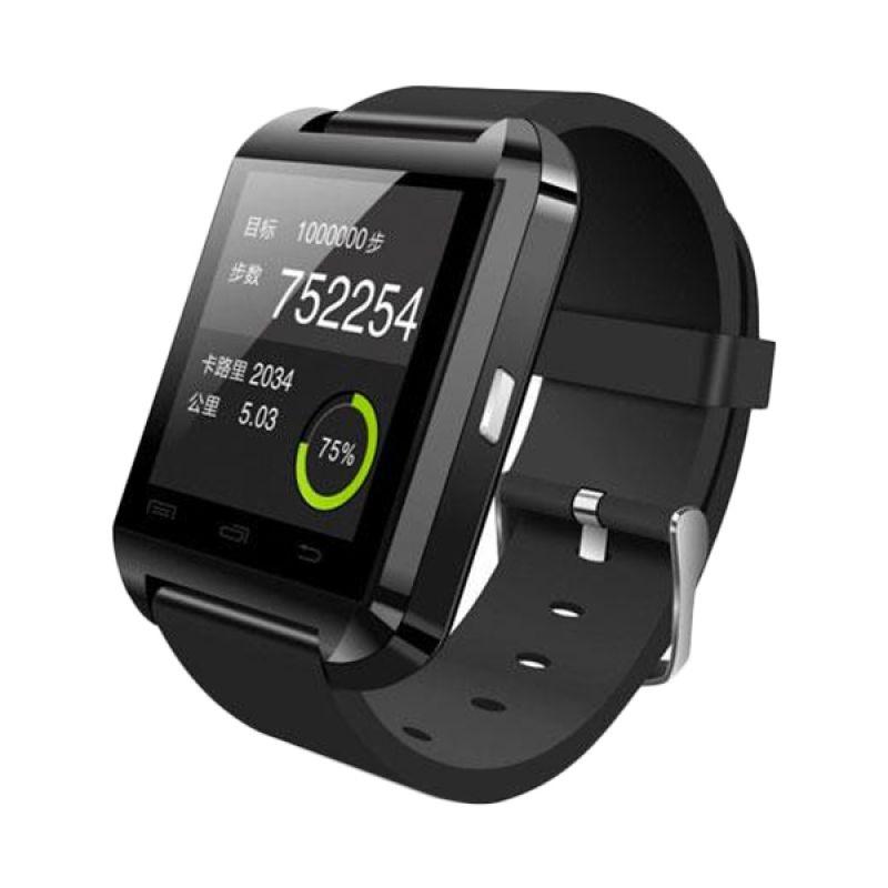 Bcare U8 Hitam Smartwatch + SD Card 4 GB