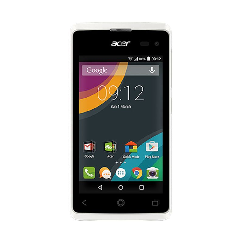 Acer Liquid Z220 White Smartphone