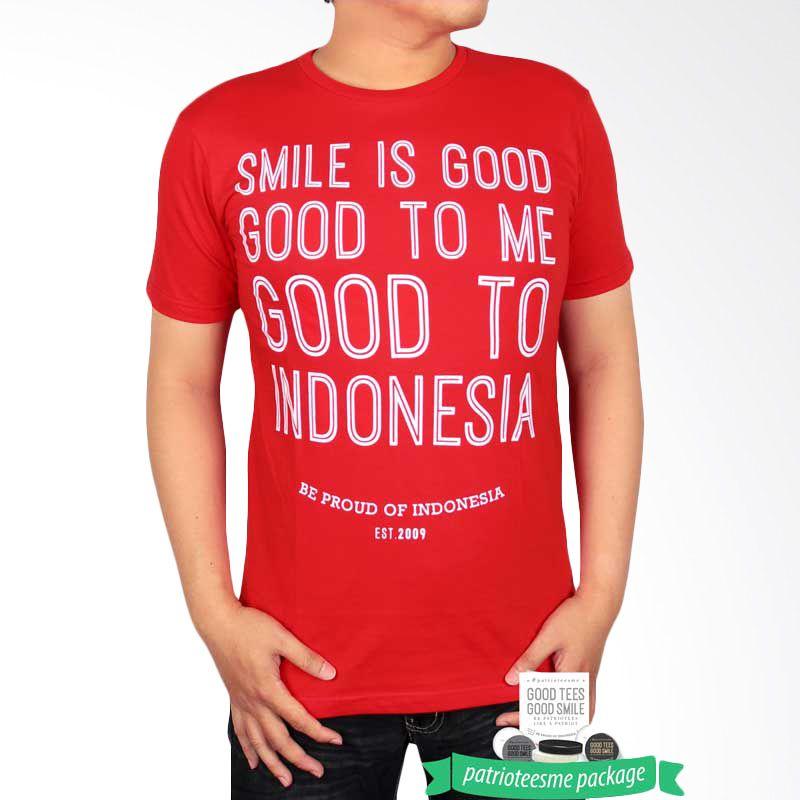 Be Proud of Indonesia PatrioteesME Package Merah Kaos