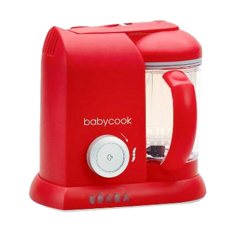 Beaba 912422 Babycook Solo Alat Pembuat Makanan Bayi - Red