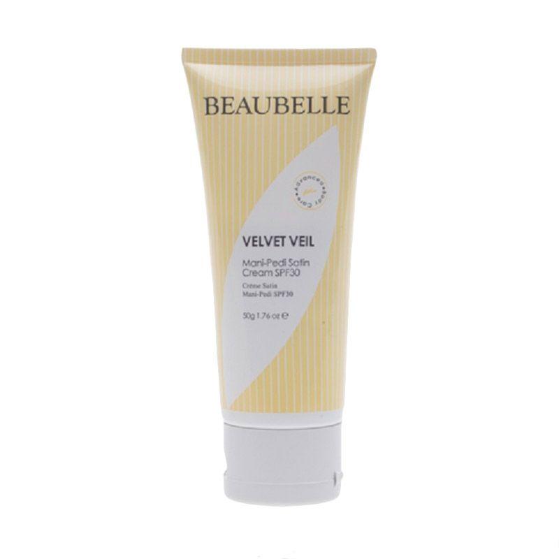 Beaubelle Velvet Veil Mani Pedi Satin Cream SPF30 Krim Kaki