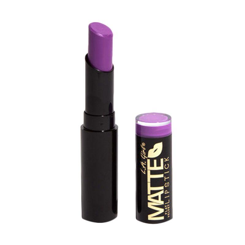 LA Girl Matte Flat Velvet Lip Giggle Lipstik