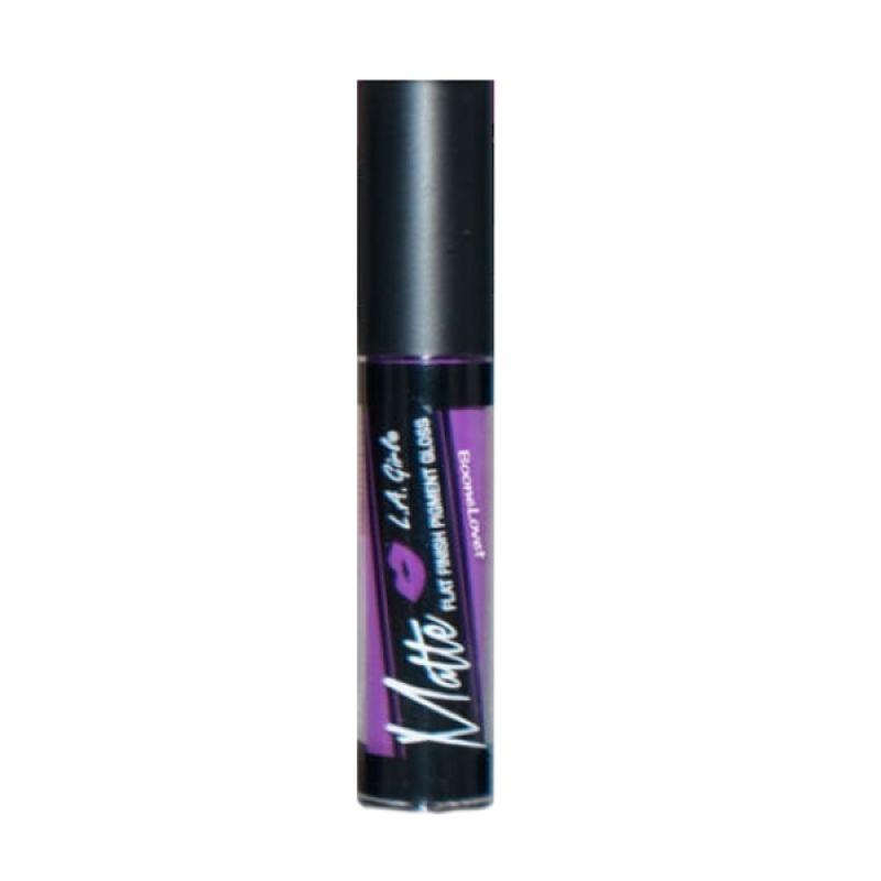 LA Girl Matte Pigment Gloss Stunner Purple Lipstick
