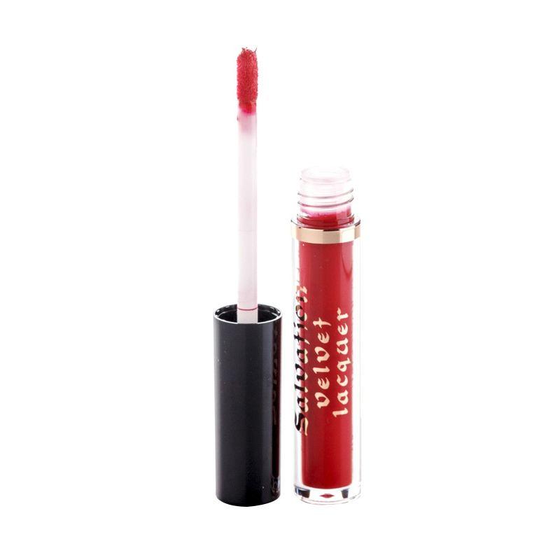 Makeup Revolution Salvation Velvet Keep Trying For You Lipstik