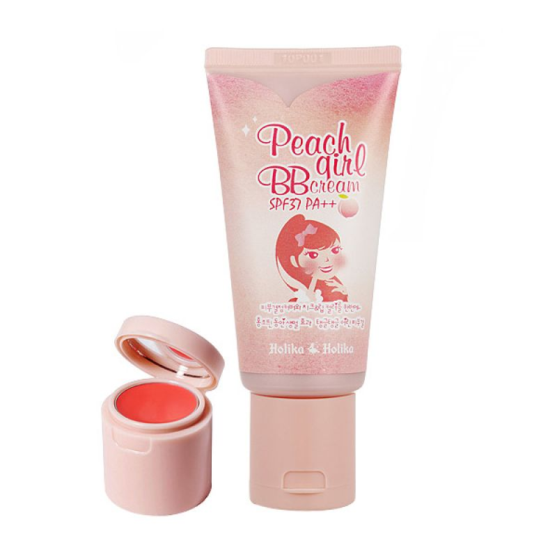 Holika-Peach Girl BB Cream SPF 37 Natural