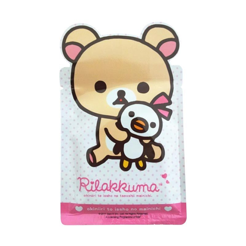 Rilakkuma Japan Caviar Essence Q10 Whitening Mask 1pcs