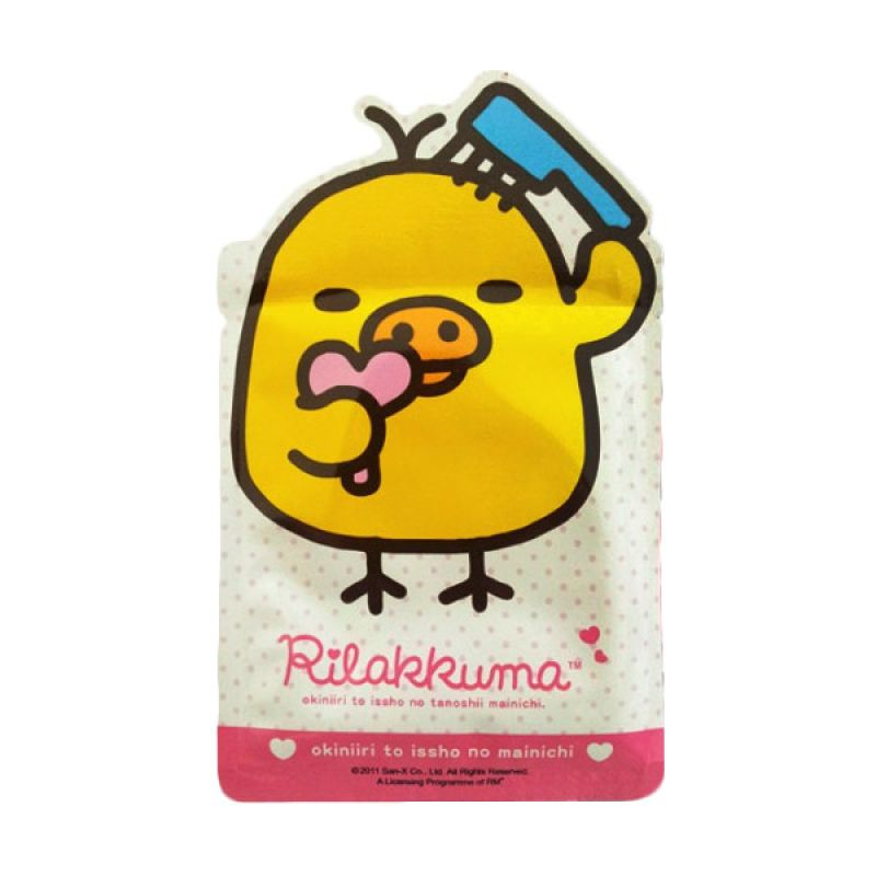 Rilakkuma Japan Glacial Clay Vitamin B5 Deep Cleaning Mask 1pcs