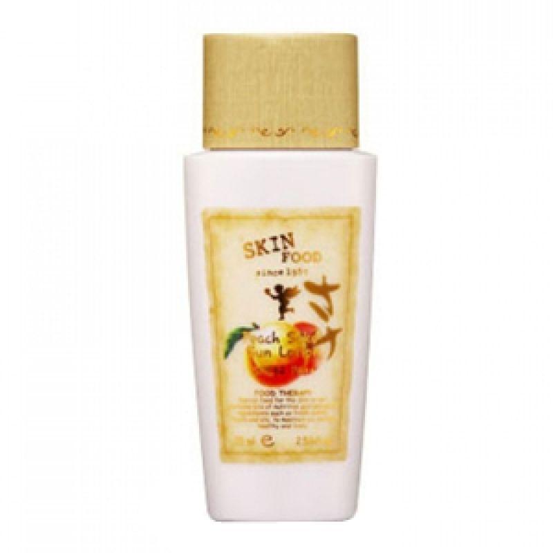Skinfood-Peach Sake Sunscreen Lotion SPF32 / 50gr