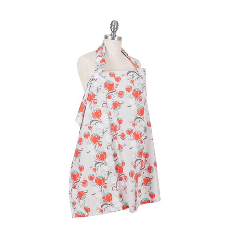 Bebe Au Lait Nursing Cover Organic Cotton Primrose