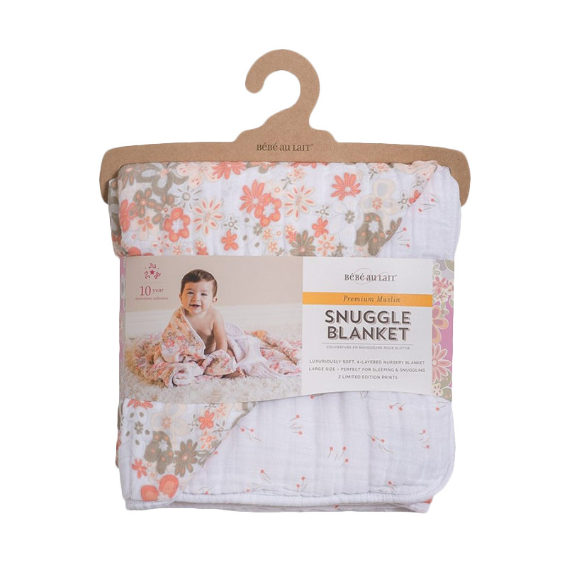Bebe Au Lait Snuggle Blanket Perky + Billy Buttons