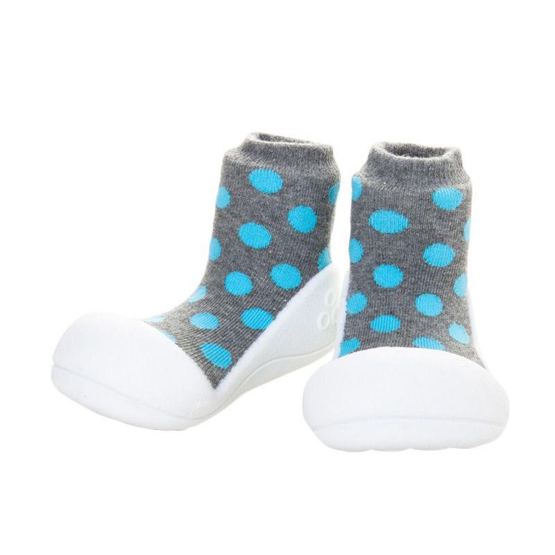 Attipas Polkadot Grey Sepatu Bayi