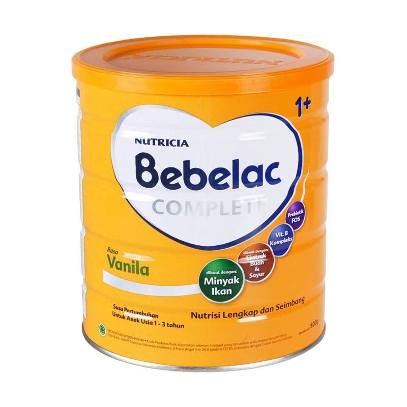 Bebelac Complete Fruit and Veggie Vanila 1+ Susu Formula [800gr]