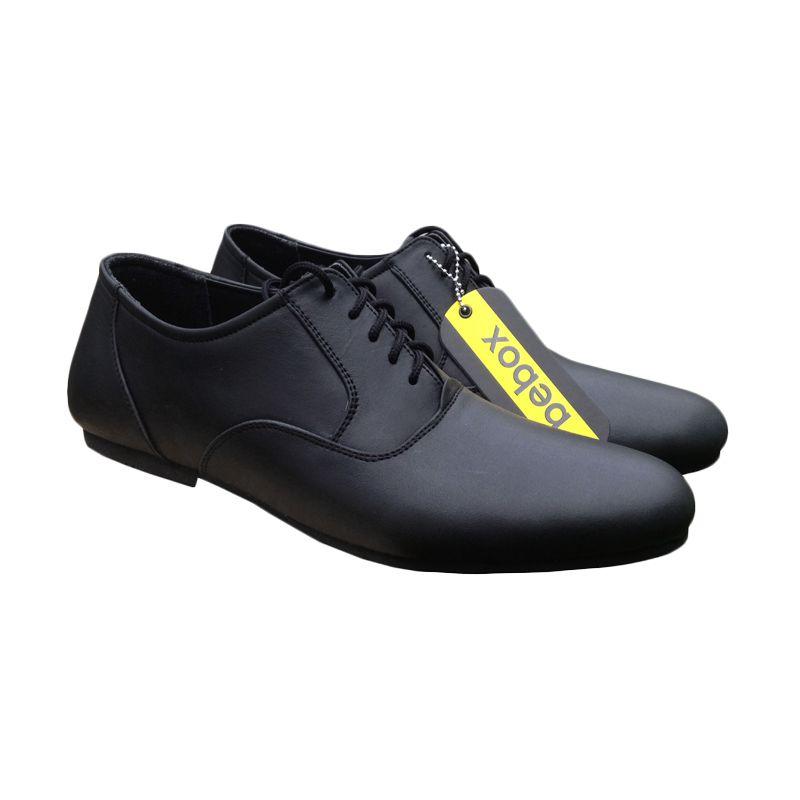 Bebox Formal BB509 Hitam Sepatu Pria