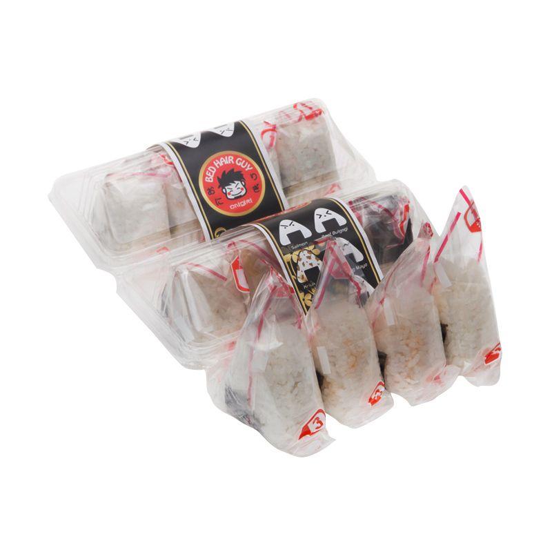 Bedhairguy Paket Quail Egg Onigiri (Area Jakarta)