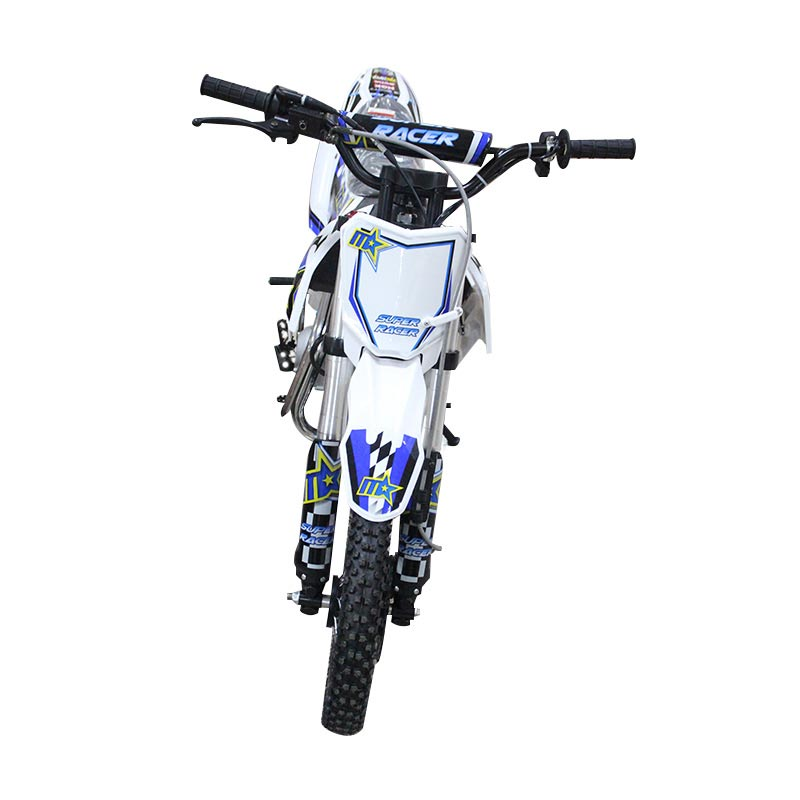 harga Bee Happy Trail Malcor Super Racer 110 Sepeda Motor - White Blue Blibli.com